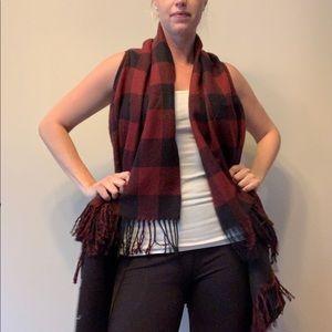 Sweaters - BOGO FREE - Plaid sleeveless cardigan
